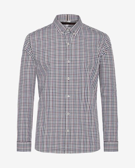 Tailored Fit Muilticolour Vichy Shirt