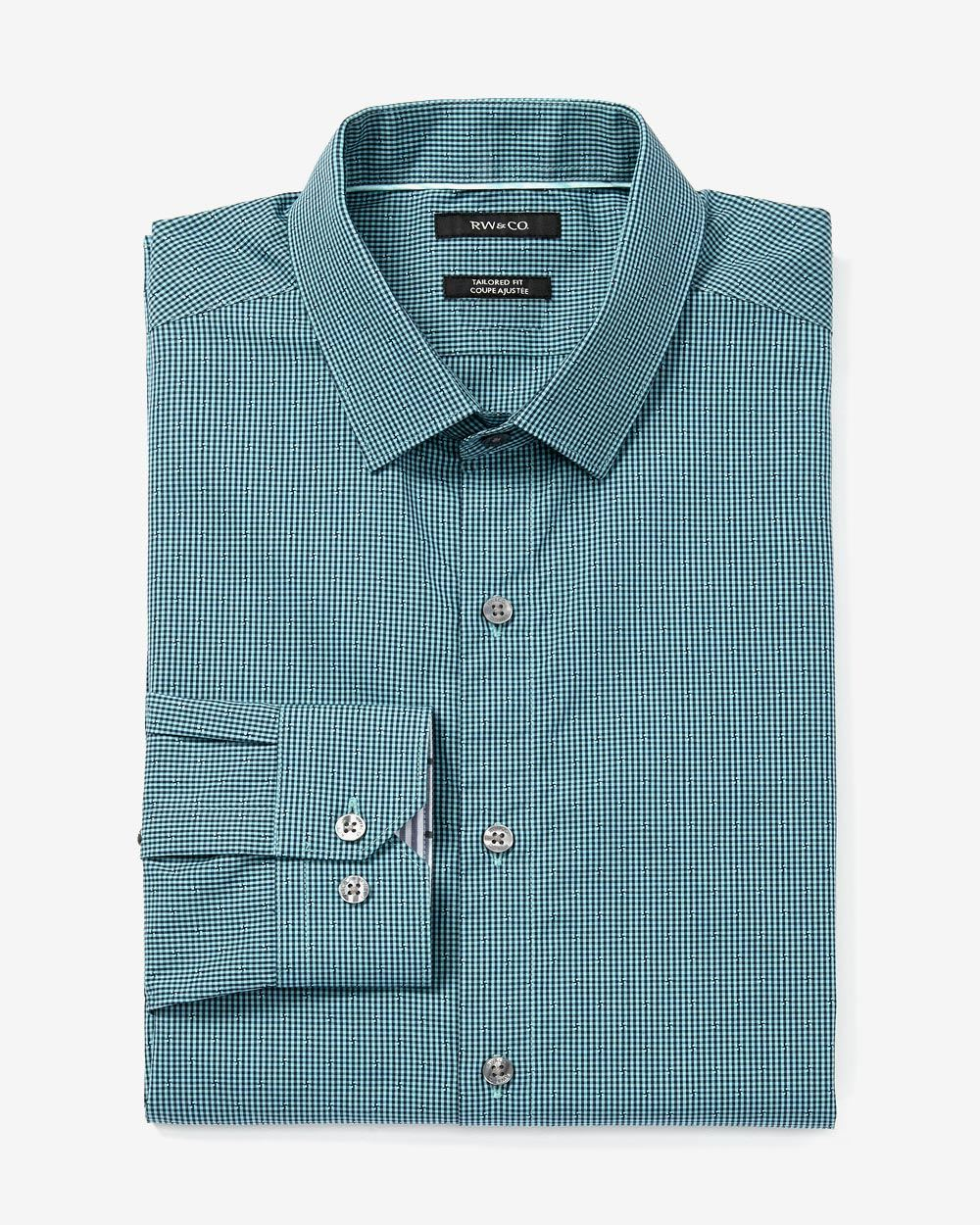Tailored fit dress shirt rw co for Tailoring a dress shirt