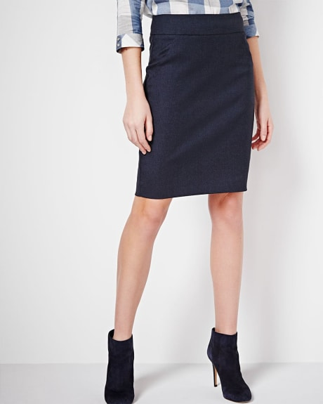 Modern Stretch Pencil Skirt