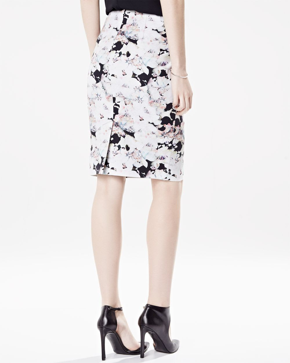 Floral pencil skirt sexy plumer