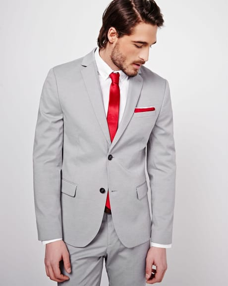 Grey Slim Fit Blazer - Regular