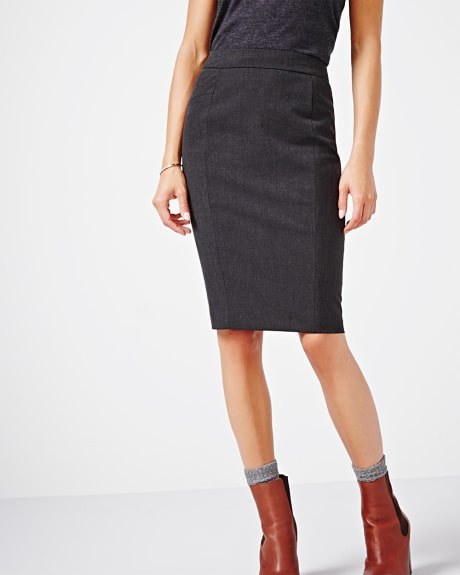 Heather Everyday stretch pencil skirt