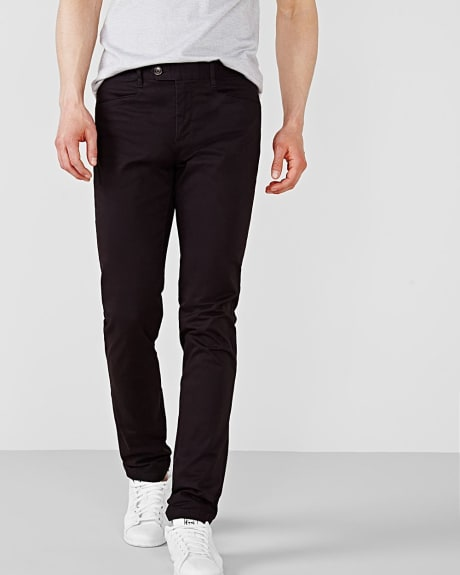 Slim fit chino with L-shape pockets - 32'' inseam