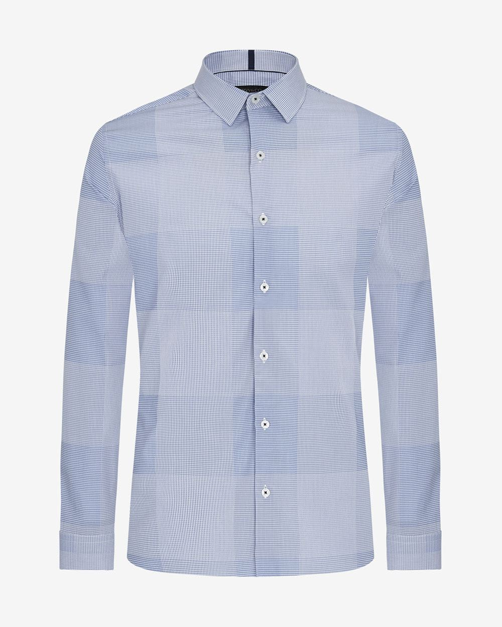 Tailored fit check shirt rw co for Tailored fit shirts meaning