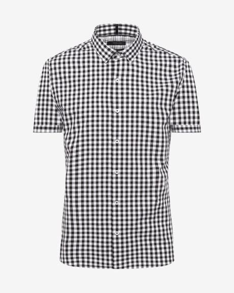 Vichy Tailored Fit Short Sleeve Shirt