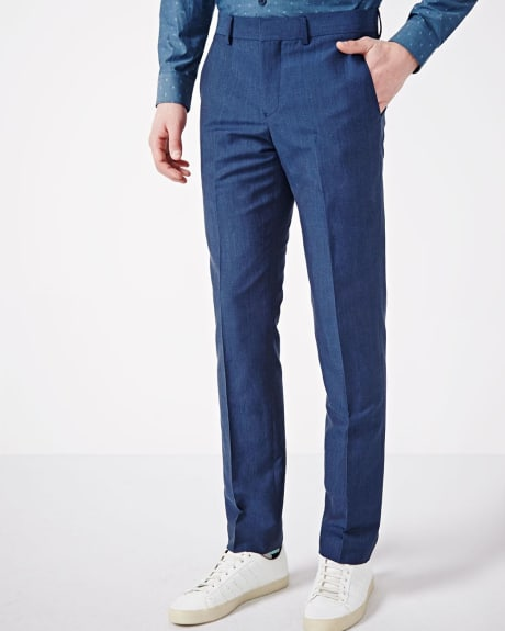 PK Subban Slim Fit Denim Linen Pant