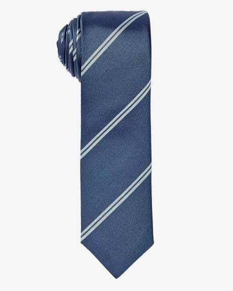 Skinny Striped Tie