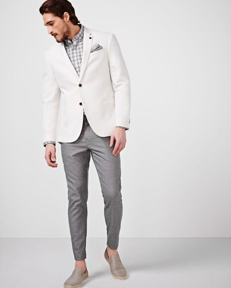 Linen Athletic Fit Blazer