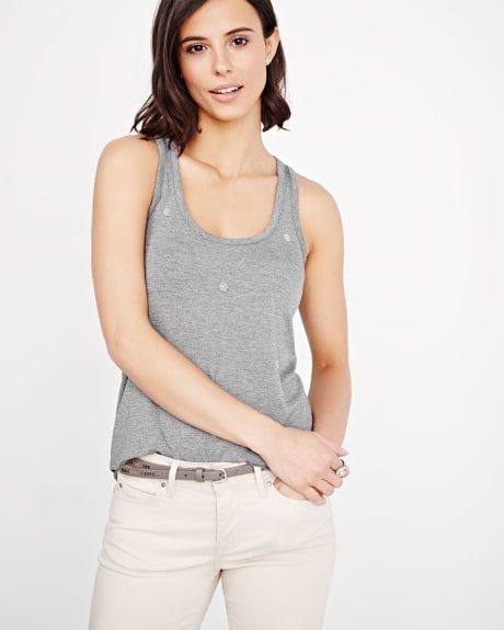 Embellished Cami T-Shirt