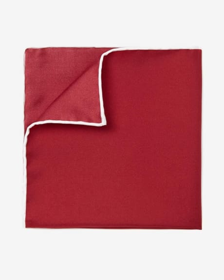 Pocket Square with Contrast Trim