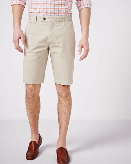 Short Chino Coupe Athlétique