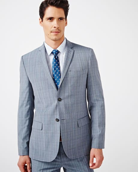 Tailored Fit Prince of Wales Blazer - Regular