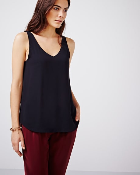 Solid Cami Blouse - Basic colours