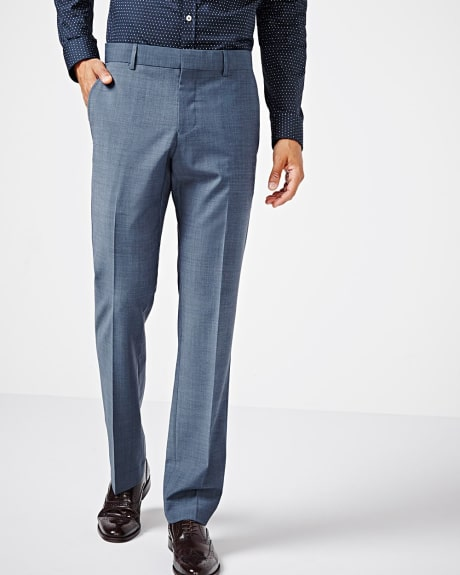 Tailored fit teal traveler pant - Short