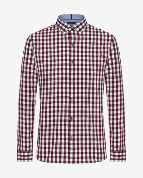 Tailored Fit Vichy Shirt