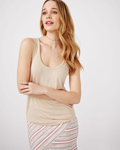 Scoop Neck Cami T-shirt