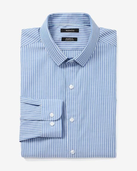 Tailored Fit Striped Dress Shirt