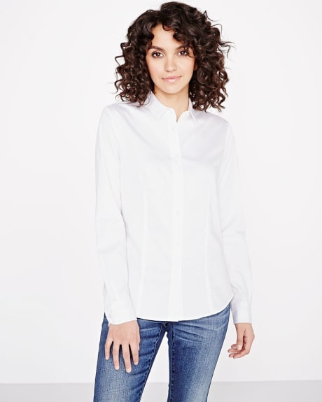 Fitted shirt blouse
