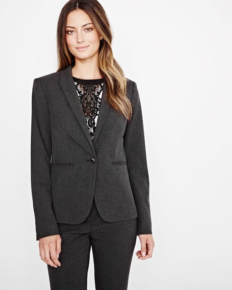 Everyday Stretch Heather Blazer