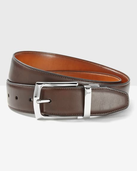 Reversible brown belt