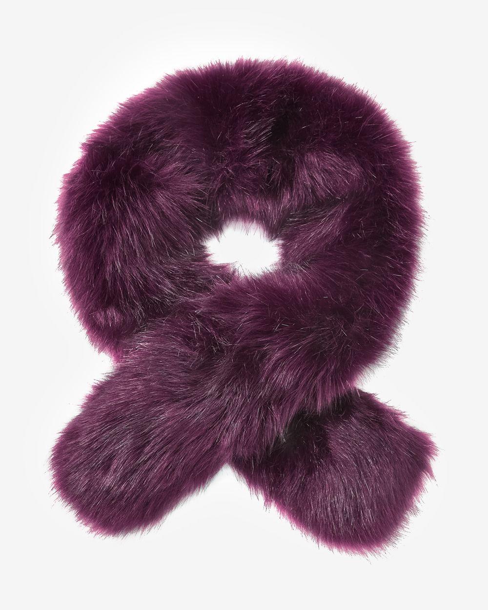 Oversize faux fur stole rw co - Stoel fur ...