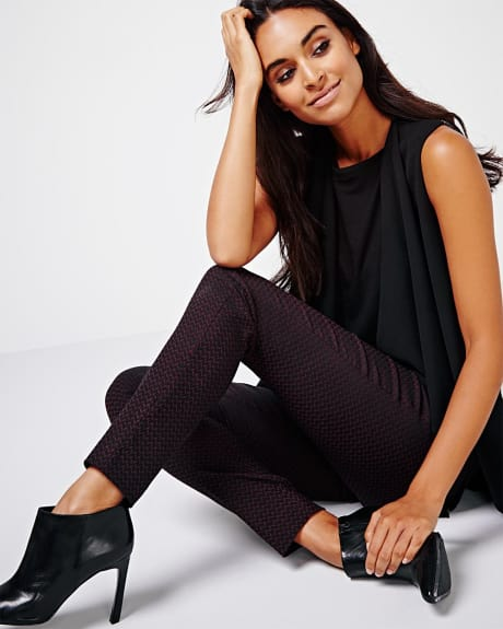 Modern stretch herringbone legging