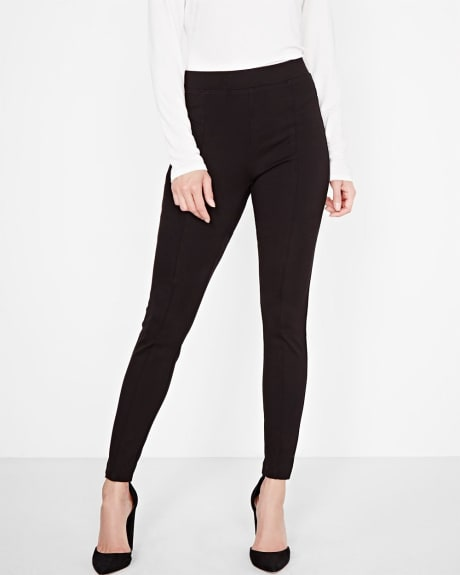 Stretch black legging