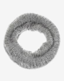 Eyelash yarn snood