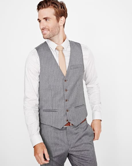 PK Subban Tailored Fit Pinstripe Suiting Vest