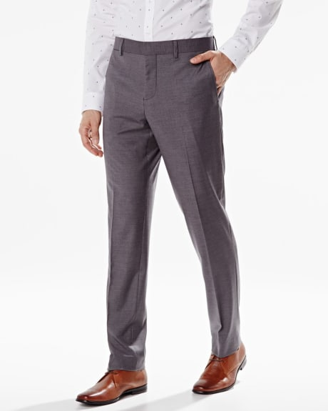Athletic fit solid pant