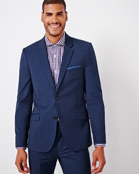 Blue Slim fit blazer - Regular