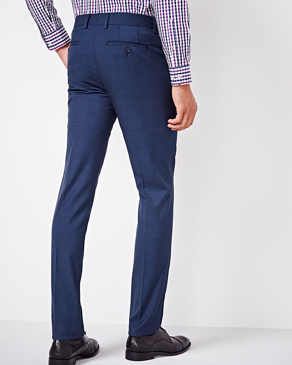 blue slim fit pant regular rw co. Black Bedroom Furniture Sets. Home Design Ideas