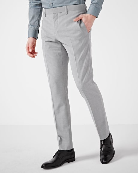 Tailored fit grey traveler pant - Short