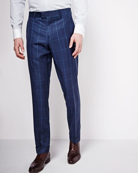 PK Subban Slim Fit Window Pane Pant