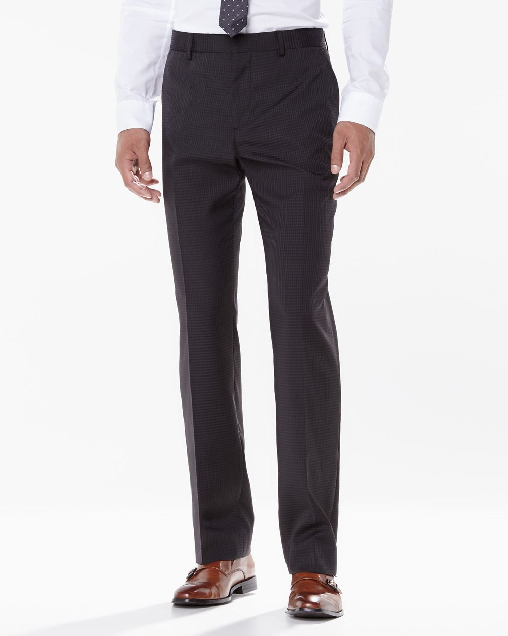 Pantalon preston carreaux textur s r gulier rw co for Pantalon a carreaux