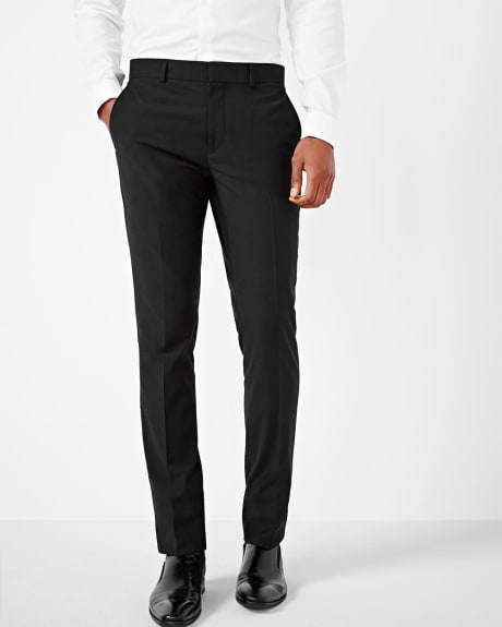 Tailored fit wool-blend pant - Regular