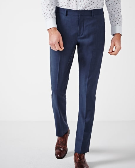 Tailored Fit Blue Pant - Regular