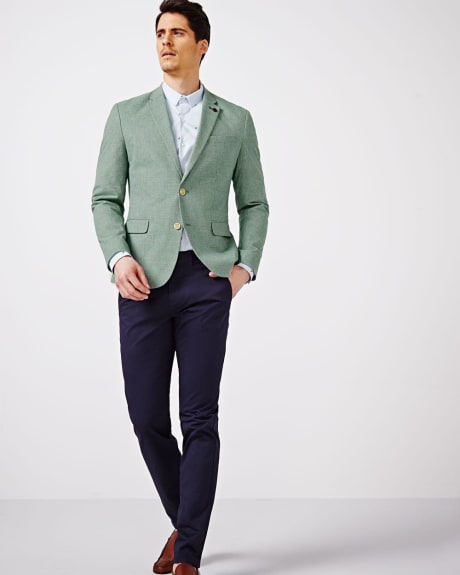 Houndstooth Slim Fit Blazer