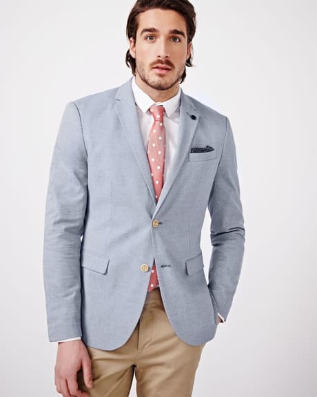 Two Tone Slim Fit Blazer