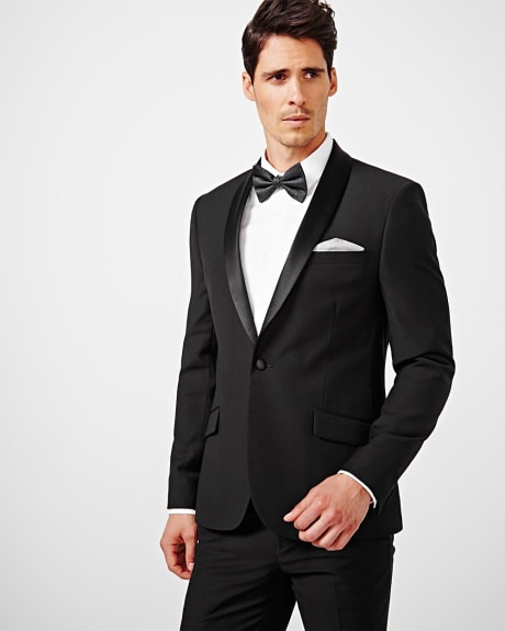 Slim fit tuxedo blazer - Regular