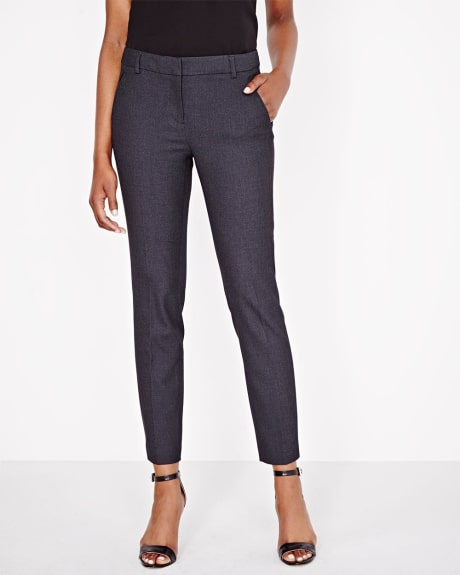 Everyday Stretch Signature Two-Tone Ankle Slim Pant