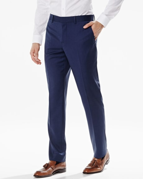Athletic fit pant in dark blue