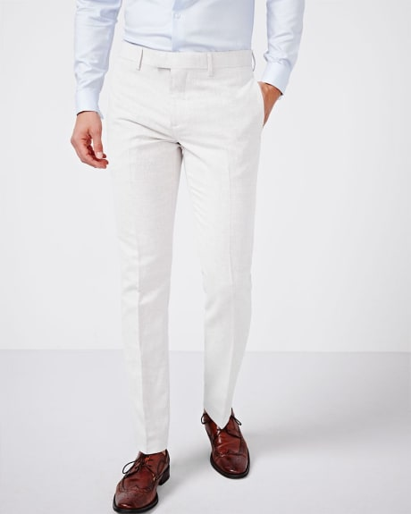 Tailored Fit Linen Blend Pant