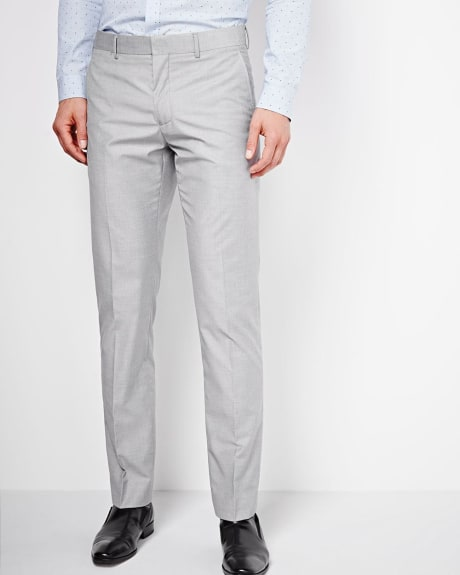 Tailored Fit Sharkskin Pant