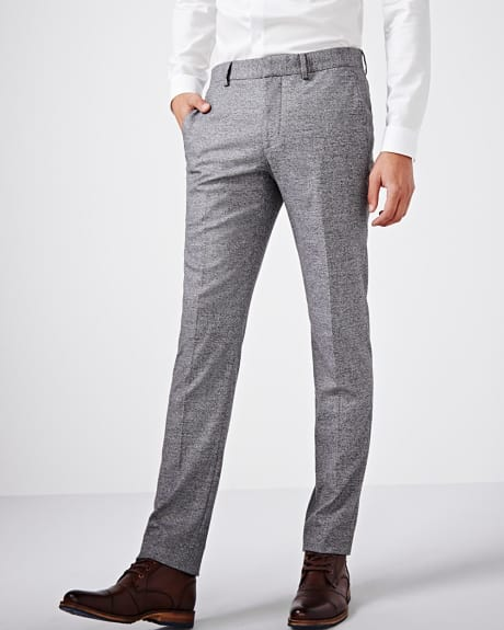 Slim fit twisted yarn pant - Regular