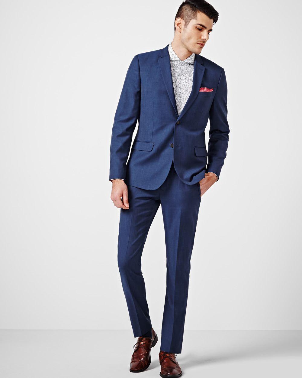 slim fit blue blazer regular rw co. Black Bedroom Furniture Sets. Home Design Ideas