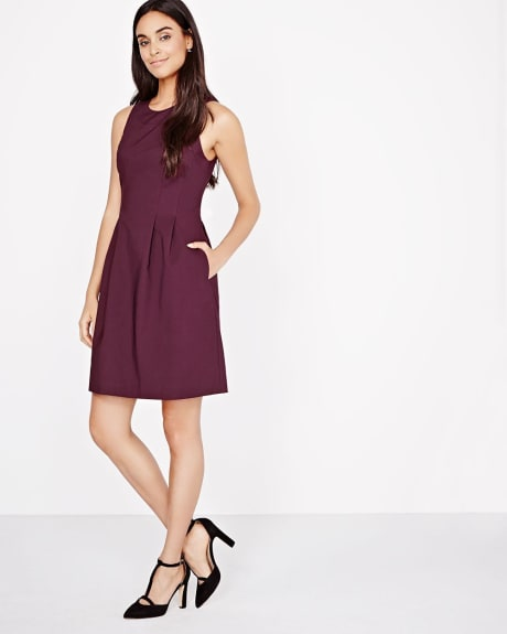 Modern Chic Fit and Flare Dress