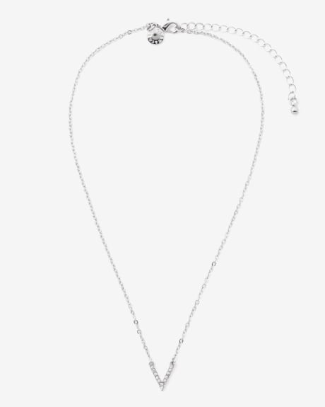 Short V Necklace