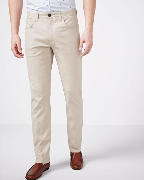 Straight fit 5-pocket pant - 32 inch inseam