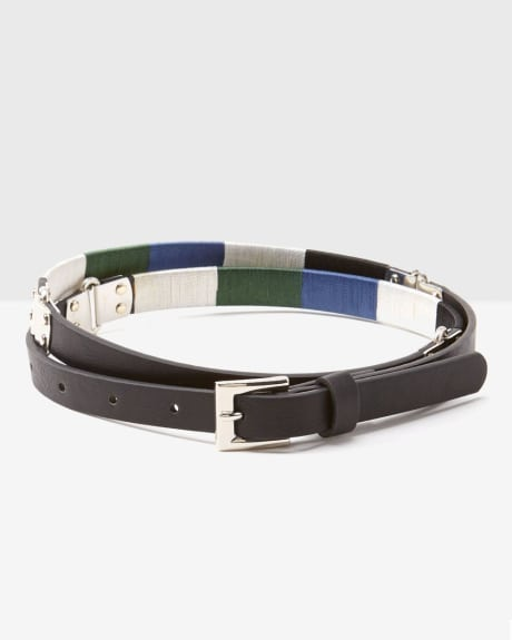Colour Block Belt